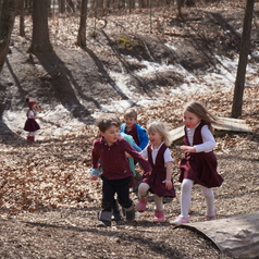 Richland Montessori Light of Christ Academy Catholic Classical Education Private School Richland Augusta Gull Lake Natural Playscape 2