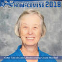 Homecoming Grand Marshal, Sister Ann deGuise