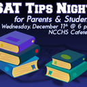 SAT Tips Night - 12/11/19 at 6 p.m.