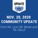 November 20 - Community Update and Parent Survey