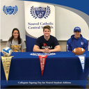 Three student-athletes sign Collegiate Letters of Intent