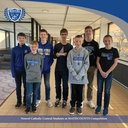 Middle School students succeed in local math competition