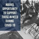 Opportunity to support those in need during COVID-19 pandemic