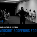 Workout Screening Form
