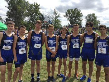 Cross Country Team Excels at Stratford Woods Park (9/8)