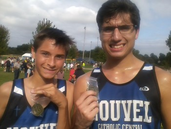 Cross Country Medals at Chesaning Showboat Park (9/13)
