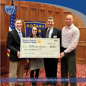 McKenna Adams Receives Rotary Scholarship