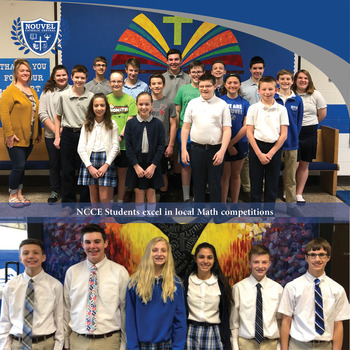 NCCE Students Excel at Local Math Competitions