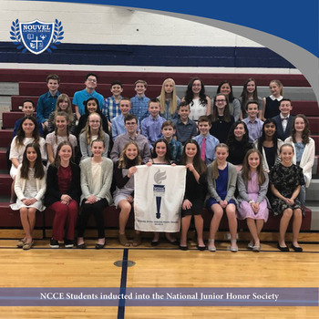 Students inducted into National Junior Honor Society