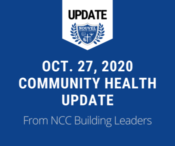 October 27 - Community Health Update