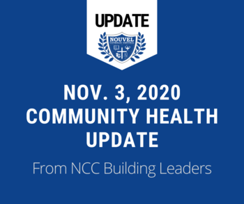 November 3 - Community Health Update