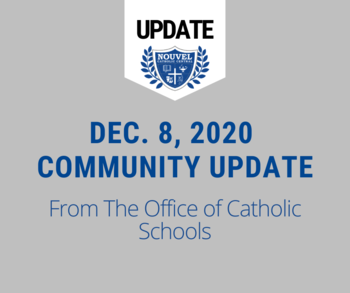 Office of Catholic Schools Update 12/8/20