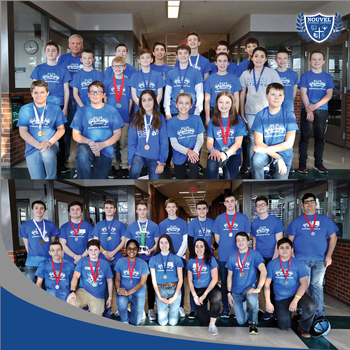 Nouvel students excel in Regional Science Olympiad competition