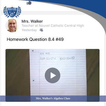 Mrs. Walker's 8th Grade Algebra