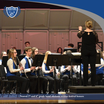 Band Students Receive High Ratings at Festival