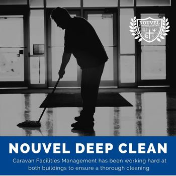Deep Clean Performed at Both Buildings