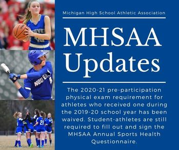 MHSAA Updates for 2020-21