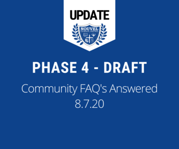 Phase 4 Draft FAQ's Answered