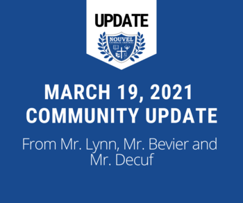 March 18 Community Update