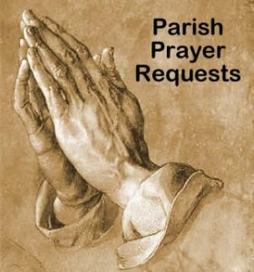 Prayer Requests – Week of July 30, 2017