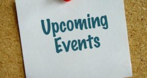 Upcoming Events – Week of January 28, 2018