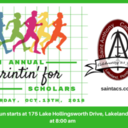 Registration Now Open for Sprintin' for Scholars