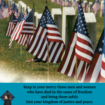 The Parish office will be closed Monday, May 28th in observance of Memorial Day.