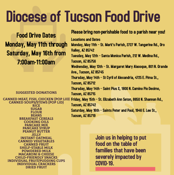 Tucson Catholic Food Drive