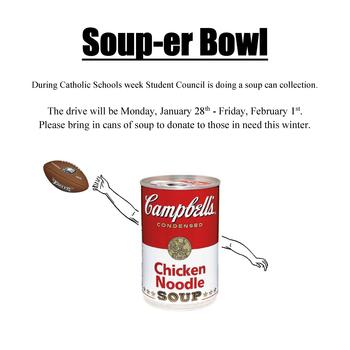 "Holy Family ""Soup-er"" Bowl"
