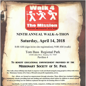 Walk 4 the Mission