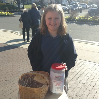 "Saint Ann School Students Raise <div>  Money for ""Hearts to Hospitals"" </div>"