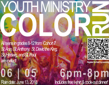 Cohort BBQ and Color Run Event