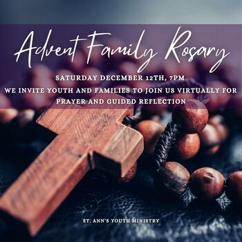 New Event! Advent Family Rosary