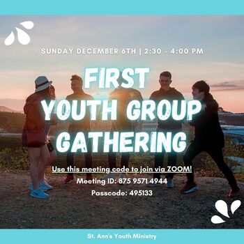 Virtual Youth Group Gathering