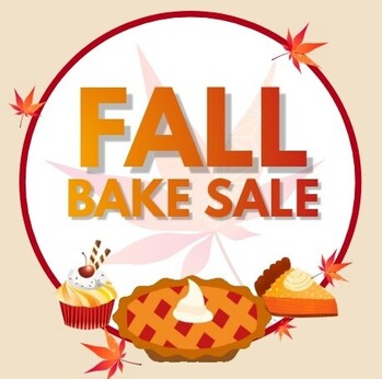 Bake Sale Fundraiser - Click HERE for our flyer