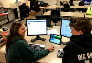 Hackett Catholic Prep Kalamazoo Private School CSGK 1:1 iPad Initiative Students 1