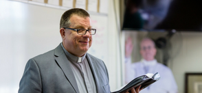 Deacon Kurt Lucas - Theology Instructor at St. Monica Catholic School and Hackett Catholic Prep Deacon, St. Monica Parish