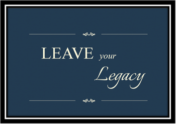 Leave Your Legacy - Your St. Bernard of Clairvaux Legacy