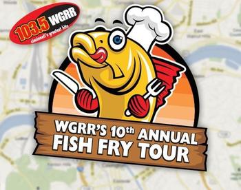Friday, March 15, WGRR-FM's Chris & Janeen (5:30-6:30 p.m.), at Fish Fry-Day #2