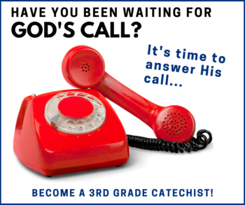 Pass on the GOOD NEWS by answering God's call!