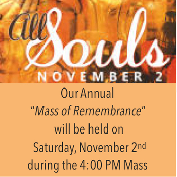 All Souls Mass of Rememberance