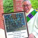 Stained glass shines light on 50th anniversary