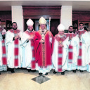 Archbishop Coakley ordains five men to the priesthood