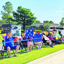 Drive-by parade celebrates The Center of Family Love
