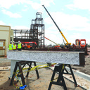 """Last steel beam lifted onto Bl. Stanley Rother Shrine in """"Topping Out"""" ceremony"""