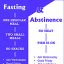 Prayers, fasting and abstinence examples by Christ
