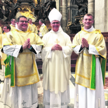 Two Oklahomans among 40 seminarians ordained deacons in Rome