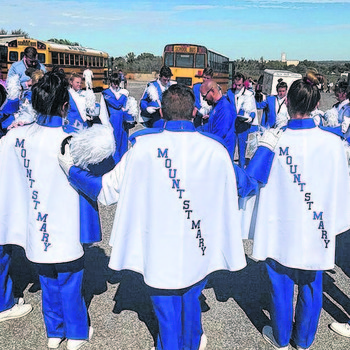 Mount marching band returns, music flourishes