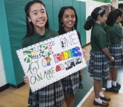 Catholic schools promote kindness as antidote to bullying, anxiety