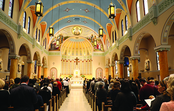 Archbishop Coakley rededicates The Cathedral of Our Lady of Perpetual Help